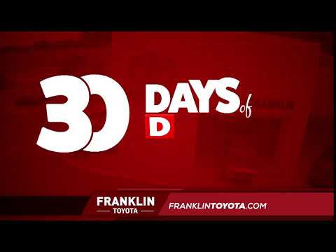 Franklin Toyota - 30 Days of Deals
