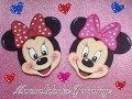 MINNIE MOUSE HECHA CON FOAMY O GOMA EVA . - YouTube