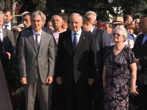 Președintele Nicolae Timofti a participat la ceremonia de comemorare a victimelor deportărilor comuniste