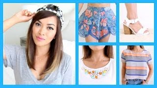Summer Fashion Haul! ♡ Zara, Urban Outfitters, Nastygal + More! - ThatsHeart