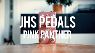 """My demo of the JHS Pedals Pink Panther!http://www.jhspedals.com/""""The original Pink Panther was one of the early JHS pedals in our line and was the first JHS delay pedal dating back to 2007-2008. The new Pink Panther is now the continuation of our delay line, and it embraces our goal to bring you a highly versatile, simple and unique line of delay pedals. The original 2007-2008 era rare/original units sell used for upwards of $500, so we thought it was time to go back to the drawing board to bring you what we consider the ultimate JHS reissue nearly ten years later. While the Panther Delay (large box, silver) and Panther Cub V1.5 (smaller box, teal) offer up authentic and genuine bucket brigade analog goodness, the Pink Panther takes a different approach: unashamed digital processing. Some of our favorite delay pedals ever made are early digital delays like the Boss DD-5, Ibanez DE7, DDL and the DOD DFX9. We think that the Pink Panther tips its hat to those units that replicate, effect and mold your guitar tone into something that only digital delay can. With a small footprint, loads of features and a simplistic user experience, we believe the search for the perfect delay is over!""""Guitar: Fano PX6Amp: Tone King 20th Anniversary ImperialCables: Toaster Cables - http://www.toastercables.com/Patch cables: Mulder Audio - http://www.mulderaudio.com/Contact: livingroomgear@gmail.comhttps://www.patreon.com/livingroomgeardemoshttps://www.facebook.com/livingroomgearhttps://twitter.com/livingroomgearhttp://instagram.com/livingroomgeardemoshttp://ask.fm/livingroomgearhttp://livingroomgeardemos.tumblr.com"""
