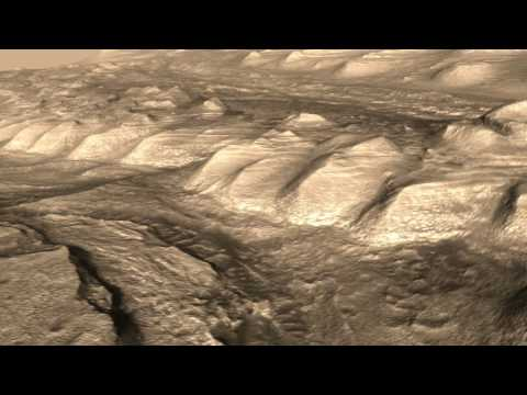 Gale Crater HiRISE DEM Animation