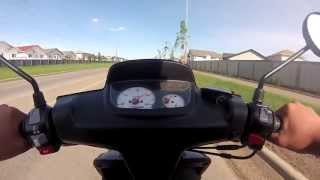 10. Yamaha Zuma BWS 50 (Big Bore 70cc) - Cruise