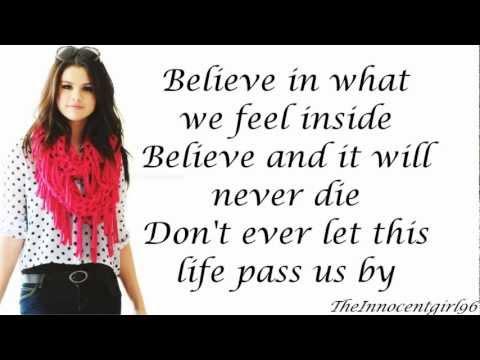Tekst piosenki Selena Gomez - Live Like There's No Tomorrow po polsku