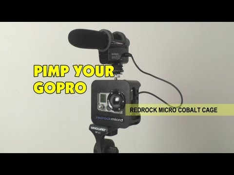 Redrock Micro - RedRock Micro Cobalt Cage for GoPro Hero 1 2 3 Action Camera ... pimp out your GoPro camera to not only give it extra protection, but also a multitude of ext...