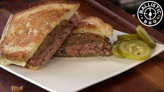 Cassell's Hamburgers Patty Melt Copycat Recipe! by Ballistic BBQ