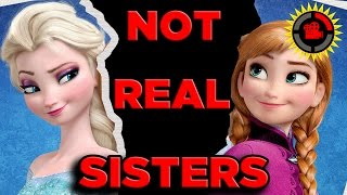 Film Theory Disneys FROZEN  Anna And Elsa Are NOT SISTERS