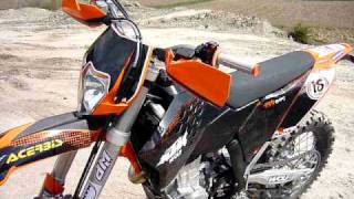 9. KTM 450 EXC-R 2009