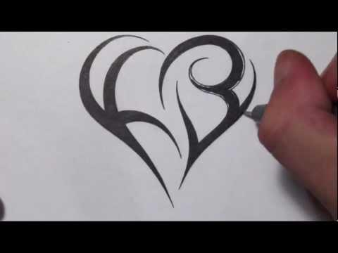 How To Create a... K Design Tattoo