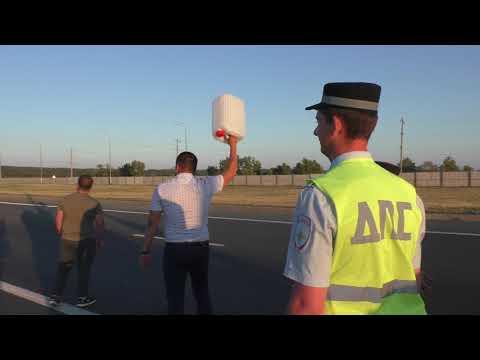 Протест в Ульяновске против подорожания бензина