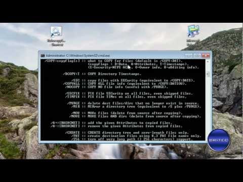 Create A Custom Backup Script With Windows Robocopy by Britec
