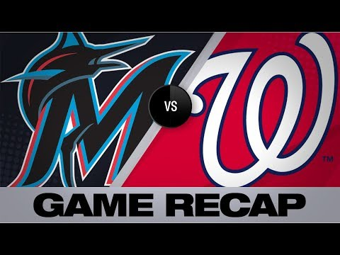 Video: Rendon's walk-off single in 9th lifts Nats past Marlins | Marlins-Nationals Game Highlights 8/30/19