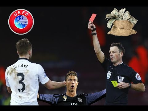 Stupid & Unfair Red Cards In Football