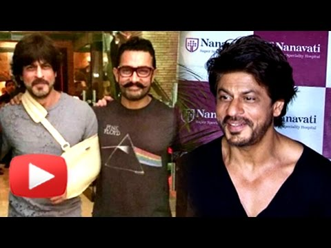 Shahrukh Khan SLAMS Reports On Working With Aamir