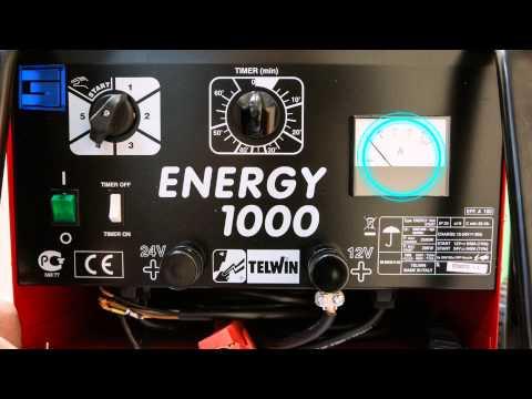 Пуско-зарядные устройства Telwin Energy