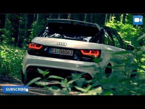 Audi A1 Quattro MTM 380 HP Review (English Subtitles)