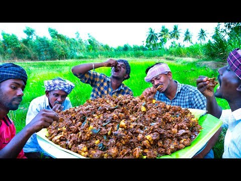CHICKEN CHUKKA | Healthy Country Chicken Fry | Traditional Village Cooking | Village Food Recipes