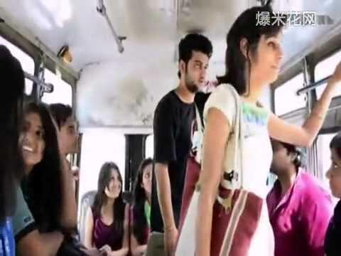 在公車上騷擾美女被賞耳光,沒想到他做出了一個經然舉動對美女……