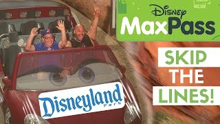 How to Use Disney MaxPass Review - Do Disneyland in One Day + Mission Breakout POV!