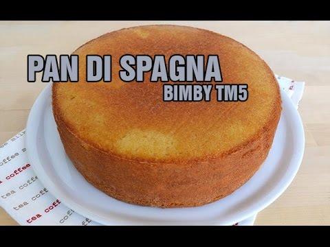 bimby - come preparare il pan di spagna
