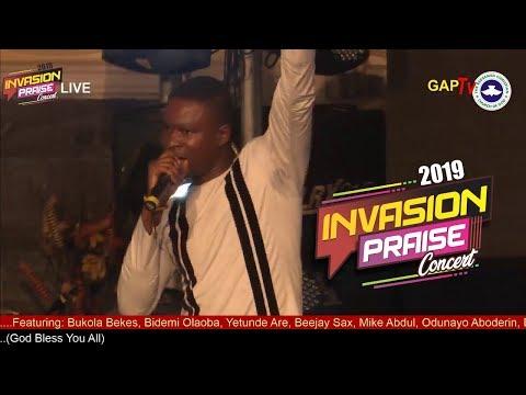 Bidemi Olaoba @ RCCG KayWonder INVASION PRAISE CONCERT 2019