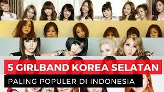 Girlband K-Pop Paling Populer di Indonesia