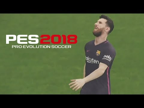 PES 2018 - Atletico Madrid vs Barcelona - Gameplay HD 60FPS