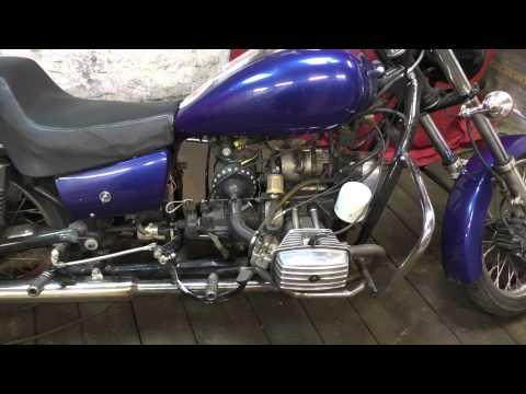 Видео про мой мотоцикл днепр