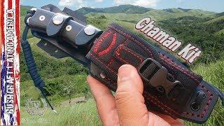 Survival Knife Chaman kit - (English Version)