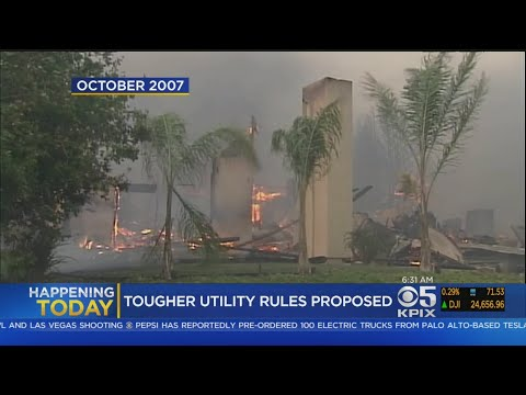 California Utilities May Face Stricter Rules After Wildfires