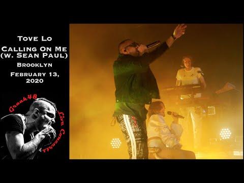 "Tove Lo - ""Calling On Me"" (with Sean Paul) - Brooklyn - February 13, 2020"