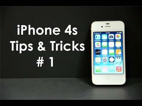 iphone 4s - Give me a thumbs up if you like this video! I know some of you may know a lot of these tips and tricks...but you would be surprised how many iPhone users don...