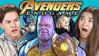 Video Teens React To Avengers: Endgame Trailer & Easter Eggs MP3, 3GP, MP4, WEBM, AVI, FLV Desember 2018