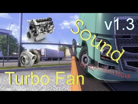 Turbo fan sound for all trucks v1.1