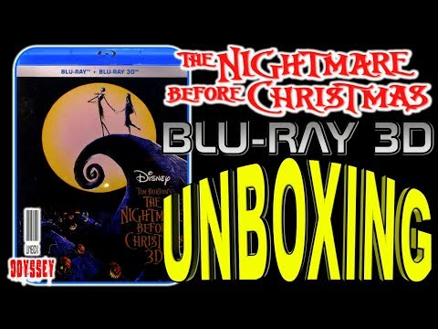 The Nightmare Before Christmas 3D - Blu-ray Unboxing