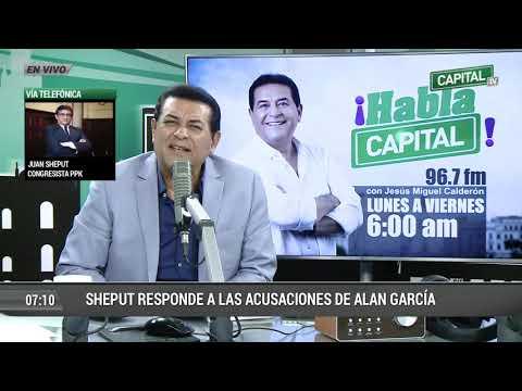 """Download Juan Sheput: """"Es obvio que Alan García hace tiempo está desconectado de la realidad"""" hd file 3gp hd mp4 download videos"""