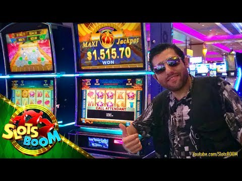 PROGRESSIVE JACKPOT on  JULY 4th in CASINO!!! PLAY BIG WINS!!! Konami & Aristocrat Video Slots