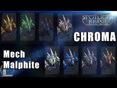 Mech Malphite - Chroma Skin (видео)