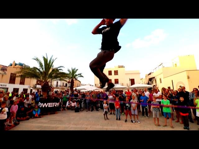 San vito climbing Festival 2017 - Parkour - slackfline - climbing