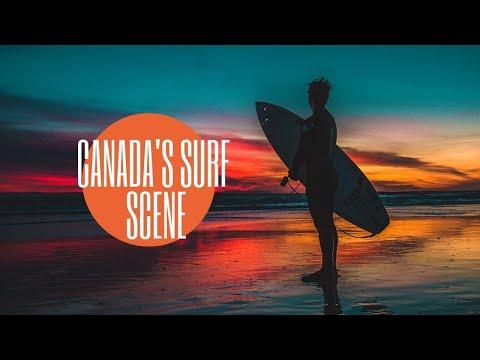 Canadian Surfing -- Tofino, British Columbia