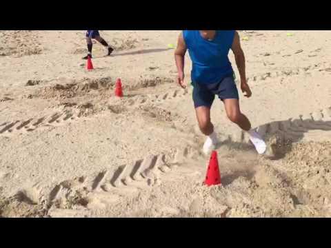 אימון זריזות ומהירות בים