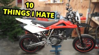 10. 10 Things I 'Hate' About My Supermoto (Husqvarna SMR 510)