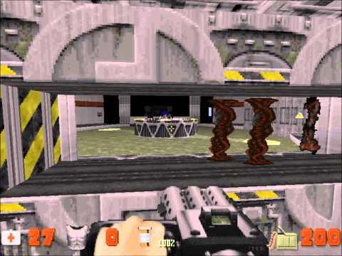 preview-Let\'s Play Duke Nukem 3D! - 014 - Lunar Apocalypse - Stage 7: Lunar Reactor (PART 2/2) (ctye85)