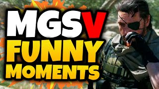"""Metal Gear Solid 5 Funny Moments Funtage! • Leave a """"like"""" for more Metal Gear Solid 5! :D • Funtage Videos Playlist:..."""