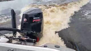5. Mercury 300 Pro XS V8 four-stroke on 202 Blazer Bass boat