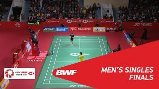 Video MS | Kazumasa SAKAI (JPN) vs Anthony Sinisuka GINTING (INA) | BWF 2018 MP3, 3GP, MP4, WEBM, AVI, FLV Januari 2019