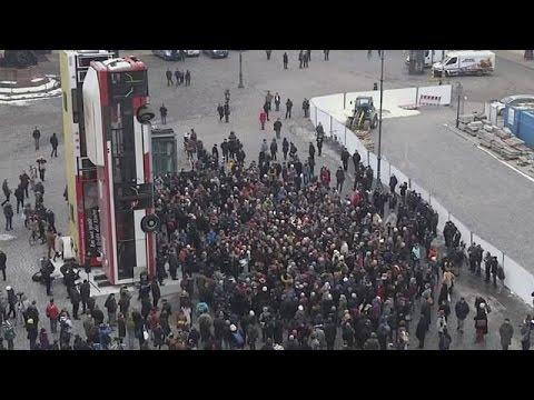 Ένα αντιπολεμικό μνημείο ενώνει τη Δρέσδη με τη Συρία