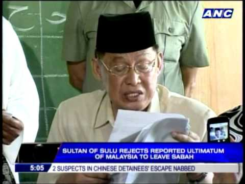 sulu - MANILA, Philippines -- The Sultan of Sulu has reiterated his order to his followers not to leave Sabah despite a reported ultimatum given by Malaysian author...