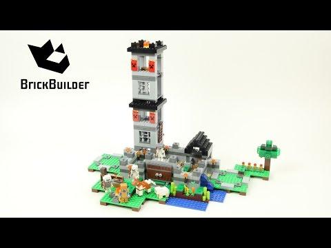 Vidéo LEGO Minecraft 21127 : La forteresse