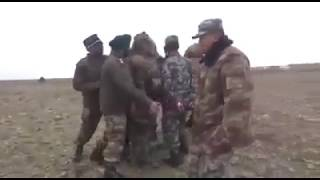 Indian and Chinese soldiers are locked in a tense face-off along the border in Sikkim after the latter intruded into Indian territory, and stopped a batch of...